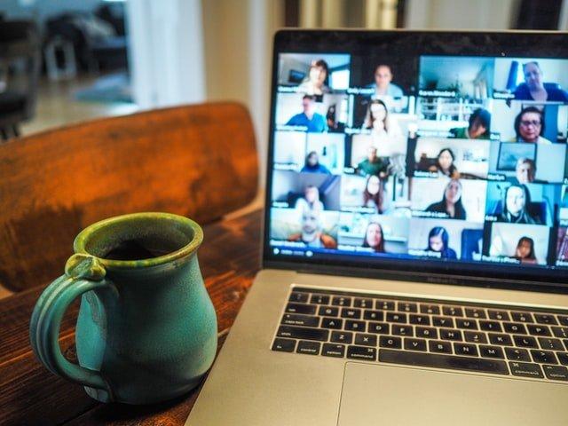 managing online through videoconference